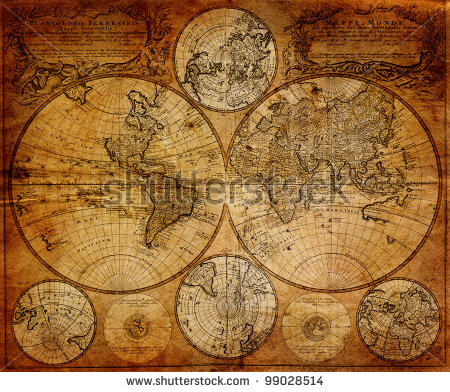stock-photo--vintage-map-johann-baptist-homann-nurenberg-germany-99028514