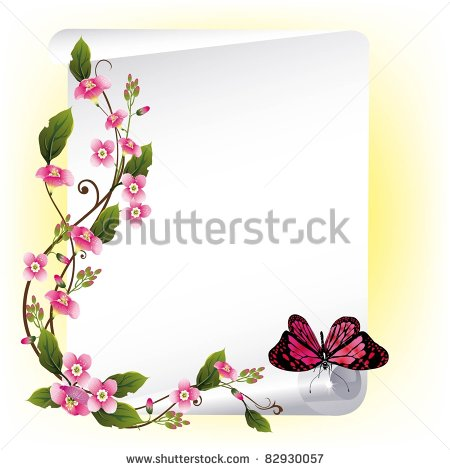 stock-vector-vector-frame-with-beautiful-flowers-and-butterfly-82930057